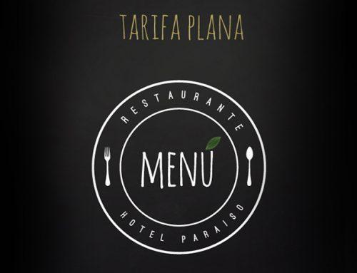 Menú Tarifa Plana