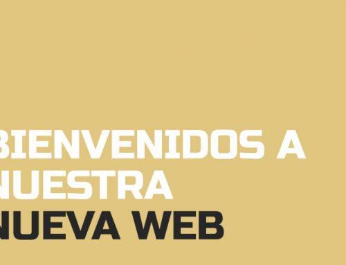 Bienvenidos a nuestra nueva web